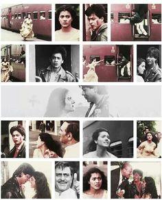 Shah Rukh Khan and Kajol - DDLJ (1995)