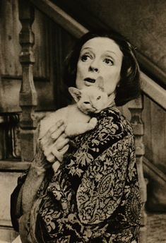 Maggie Smith- Lettice with Felina