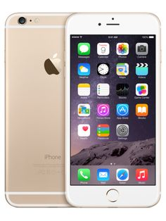 128GB Apple iPhone 6 Plus UNLOCKED GSM Gold 5.5 inches