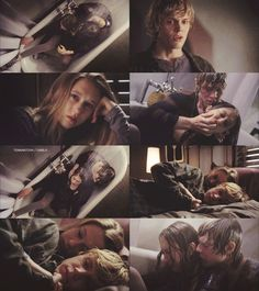 Tate and violet are the most perfect couple❤️ Evan Peters, Tate And Violet, American Horror Story 3, Why I Love Him, Bae, Character Costumes, Best Shows Ever, Best Tv, Horror Stories