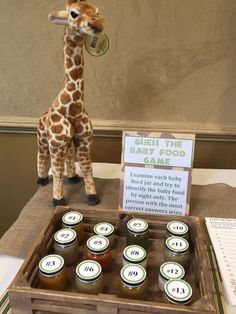 Parties by Lisa Rose's Baby Shower / Giraffe - Photo Gallery at Catch My Party Baby Shower Giraffe, Boy Baby Shower Themes, Baby Shower Fall, Baby Shower Jungle, Boy Baby Showers, Cute Baby Shower Gifts, Juegos Baby, Me Time, Shower Party