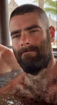 Hairy Hunks, Hairy Men, Bearded Men, Moustaches, Beard Images, Muscle Bear Men, Mustache Men, Beard Game, Scruffy Men