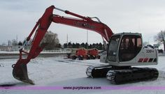 2005 Link Belt 130LX excavator , 3,013 hours on meter , Hours may vary, unit is still in use , Isuzu...