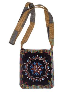 Embroidered Purse. I love the amazing detail of the embroidery on this bag.. my fave!  Beautiful handbag for the modern hippie. Perfect for festies and everyday. #wearbluesky #Boho #purses