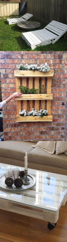 The Best DIY Wood and Pallet Ideas: Reciclando Palets