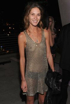 Erin Wasson, an American model, actress, occasional stylist and designer.