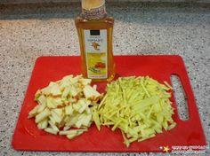 Apple ginger tea