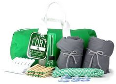 DIY Fort kit. What a great gift idea!