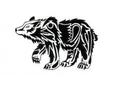 Celtic Bear Tattoo Design 05 300x219 Celtic Bear Tattoo Design 05