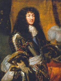 Le grand  roi  Louis  xiv