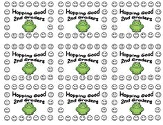 2nd Grade Frog Behavior Punch Cards - Perfect for any  Frog Theme Classroom - Individual incentive cards will help with classroom management, posit...