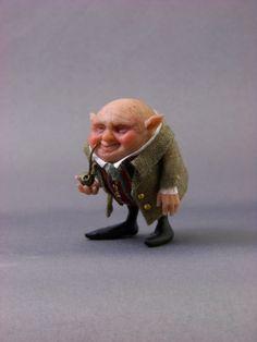 Fairystudiokallies: Ougi...tiny little gnome:O)...