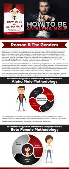 Reason & the Genders by Alpha University at www.UniversityAlpha.com #alphamale #alphauniversity #alpha