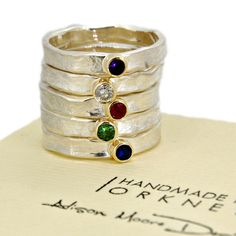 Mini storybook ring stack - Alison Moore Designs