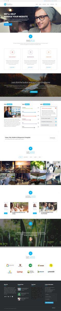California – Multipurpose WordPress Theme #html5wordpressthemes #responsivedesign #wordpressthemes