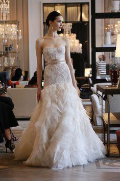 Monique Lhuillier Bridal Spring 2016   WWD