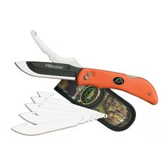 Outdoor Edge Razor Pro Folding Knife Out of doors Edge Razor Pro Folding Knife. Dull edge? Replace the blade in seconds! Do not sharpen that bladeu2026 replace ...  sc 1 st  Pinterest & Folding Blade 42577: 1475 Kershaw Storm Ii Knife Plain Blade *New ... pezcame.com