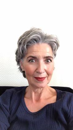 4c Natural Hair, Natural Hair Styles, Short Hair Styles, Silver Grey Hair, Gray Hair, Grey Hairstyle, Silver Haired Beauties, Grey Hair Inspiration, Hair Today Gone Tomorrow