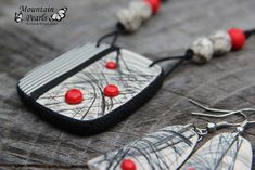 https://flic.kr/p/LJmX4U | Polymer clay necklace…