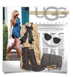 """""""Boot Remix with UGG : Contest Entry"""" by clotheshawg ❤ liked on Polyvore featuring мода, UGG Australia, H&M, Marsèll, Faliero Sarti, Quay, King Baby Studio и David Yurman"""
