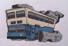Hong Kong, China Motor Bus (1924-1998)
