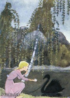 Koivu Fairytale Drawings, New Fine Arts, Fairytale Fantasies, Pin Up Art, Children's Book Illustration, Grimm, Art Boards, Vintage Art, Childrens Books