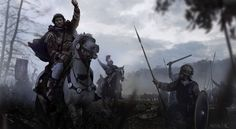 Mariusz Kozik is an artist who has worked on games like Total War: Rome 2 and Civilization V. Medieval World, Medieval Fantasy, Ancient Rome, Ancient History, Byzantine Army, Imperial Legion, Early Middle Ages, Flavio, Roman History