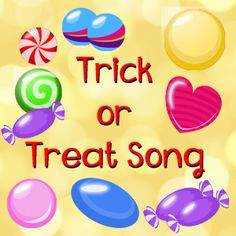 Simple Halloween song for the classroom. Teach Halloween-theme vocabulary with Trick or Treat song!