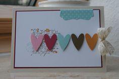 oh love it; handmade card