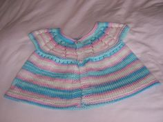 Blue Multi Coloured Cardigan by Jstitchuk on Etsy