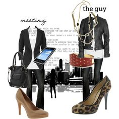 meeting vs. the guy, created on #polyvore