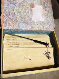 """""""Open when"""" letters. Perfect valentines day gift for the boyfriend while he's away for training during the month of February."""