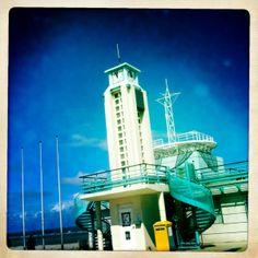 Gebouw strandwacht Duinkerke, strand van Malo les Bains #duinkerke