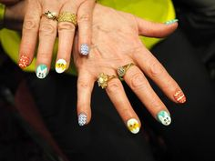 Easter Bonnet Parade - Scary's nails!