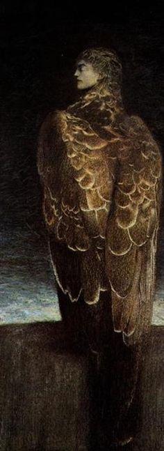 fernand khnopff: the sleeping medusa, 1896