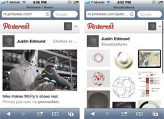 Pinterest Mobile, via the Official Pinterest Blog