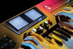 Roland BK-9 begeleidingskeyboard: dubbel display, 1700 klanken.. Heel erg 2013. #baxdroomstudio