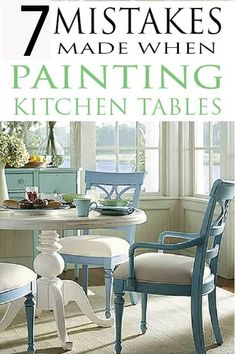 DIY Painted Furniture in your kitchen. Learn how to paint kitchen tables like t… DIY Painted Furniture in your kitchen. Learn how to paint kitchen tables like the pros and avoid DIY mistakes. Furniture Projects, Kitchen Furniture, Furniture Makeover, Diy Furniture, Modern Furniture, Antique Furniture, Furniture Outlet, Furniture Stores, Outdoor Furniture