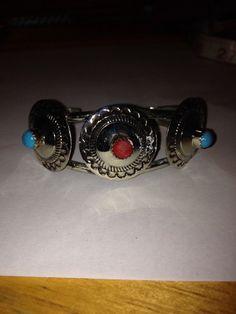 #Navajo #Turquoise #RedCoral #Cuff #Bracelet #Concha #turquoisecuff #redcoralcuff #vintagejewelry #jewelry #vintage #turquoisebracelet #redcoralbracelet #sterlingcuff #navajoturquoisecuff #navajocuff #vintagenavajo #navajojewelry #southwesternjewelry #tribaljewelry #mothersdaygift #birthdaygift #coralcuff #turquoisejewelry #sleepingbeautyturquoise http://etsy.me/1BeJfDz