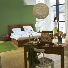 Songma Lit avec tiroir en acacia