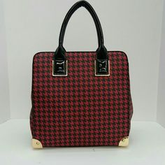Ruby Satchel bag Measurements are 11.5x6.5x12 Faux leather Comes with optional shoulder strap Brand new with tags Ruby Bags Satchels