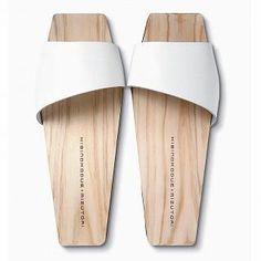 Picture of Mizutori Hinoki Hakimono Wood Sandals 1019588107 (Sandals, Mizutori Shoes, Japan Shoes, Womens Shoes, Womens Sandals)