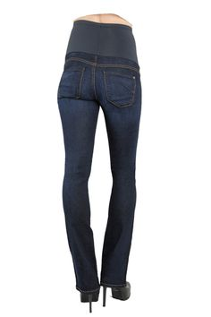 Jessica Simpson Plus Size Dark Wash Boot-Cut Maternity Jeans ...