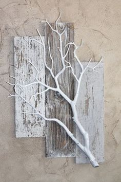 Home decorating ideas driftwood crafts, barn wood crafts, fun diy crafts, f Deco Nature, Nature Decor, Nature Tree, Diy Casa, Diy Holz, Driftwood Art, Painted Driftwood, Home And Deco, Barn Wood