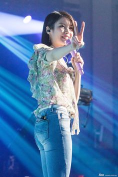 Satin Blouses, Korean Celebrities, Skinny Jeans, Singer, Concert, Cute, Beauty, Kpop Girls, Ballet