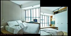 Love the bedside light. @The Gale Condo | Fuse Concept