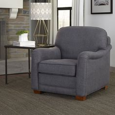 Home Styles Magean Upholstered Stationary Chair