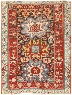 Antique Kazak Caucasian Rug 47057 Main Image - By Nazmiyal http://nazmiyalantiquerugs.com/antique-rugs/antique-caucasian-rugs/antique-kazak-caucasian-rug-47057/