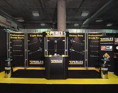 Perles Custom Booth