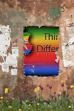 Think Different by MarkGregory007, via Flickr